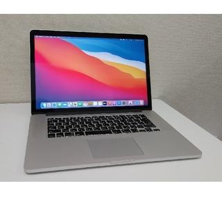Mac (Apple) - macbook pro 2015 15インチ i7/16gb/512gb