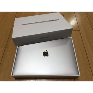 Mac (Apple) - Macbook Air 2020 シルバー中古Apple マックブック