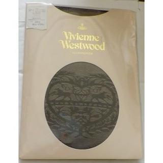 ヴィヴィアンウエストウッド(Vivienne Westwood)のヴィヴィアンストッキング アンティークハート カシューブラウン(タイツ/ストッキング)