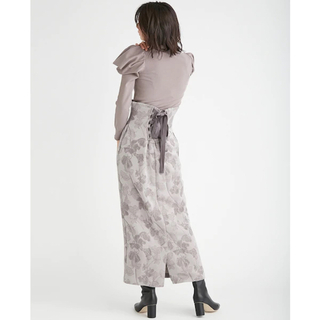 FRAY I.D - 【新品タグ付き】FRAY I.D フレイアイディー ウールジャガードスカート