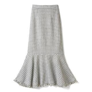 GRL - 【お値下げ可】GRL フリンジツイードマーメイドスカート