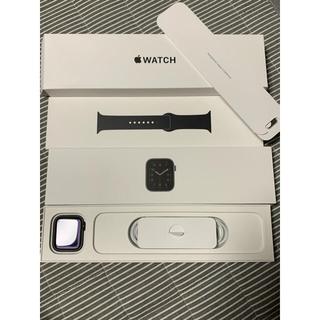 Apple Watch - アップルウォッチSE 44mm スペースグレー