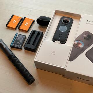 GoPro - 【美品】Insta360 one x2 消える自撮り棒、追加バッテリー付き