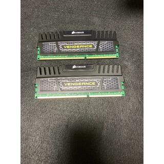 デスクトップ用メモリ  CORSAIR VENGEANCE DDR3 8G×2