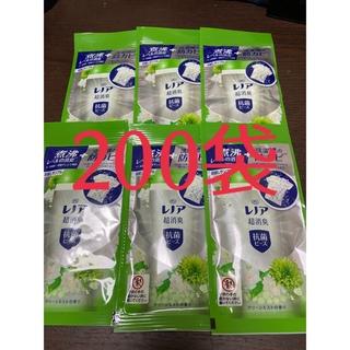 ピーアンドジー(P&G)のP&G レノア超消臭 抗菌ビーズ グリーンミスト お試しサンプル(洗剤/柔軟剤)