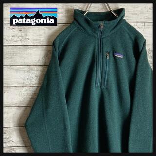 パタゴニア(patagonia)のパタゴニア★フリースジャケット スウェット X Lサイズ 緑 人気カラー(スウェット)