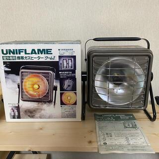 UNIFLAME - 廃盤 UNIFRAME ワーム2 携帯ガスヒーター カセットガス ユニフレーム