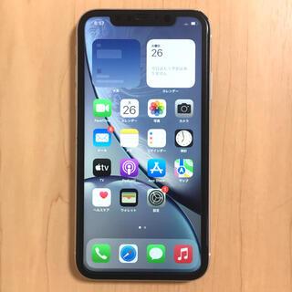 iPhoneXR SIMフリー 128GB バッテリー良好 完動品(スマートフォン本体)