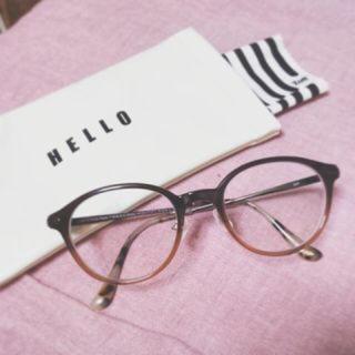 ゾフ(Zoff)のZoff×田中里奈プロデュース眼鏡 ウェリントン(サングラス/メガネ)
