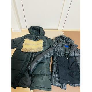 UNIQLO - UNIQLO ダウンコート、ダウンジャケット、他メーカー2点