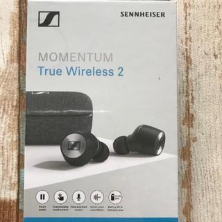ゼンハイザー(SENNHEISER)の新品未開封ゼンハイザー MOMENTUM True Wireless2 国内品(ヘッドフォン/イヤフォン)