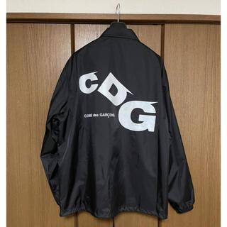 コムデギャルソンオムプリュス(COMME des GARCONS HOMME PLUS)の新品タグ付き!コムデギャルソン  CDG コーチジャケット(ナイロンジャケット)