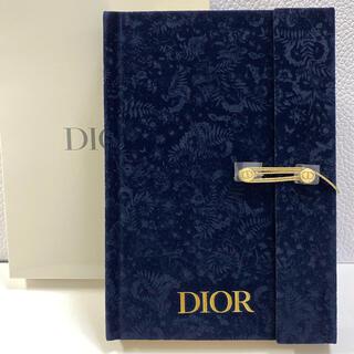 ディオール(Dior)のディオール☆ 2021 クリスマスコフレ ノベルティ ノート(ノート/メモ帳/ふせん)