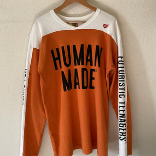 アベイシングエイプ(A BATHING APE)のhumanmade bmx shirt(Tシャツ/カットソー(七分/長袖))