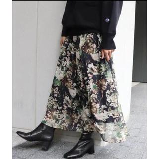 FRAMeWORK - フレームワーク 楊柳花柄スカート