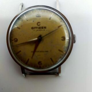 シチズン(CITIZEN)の稼働品 シチズン 手巻き センチュリーセコンド 1407081 日産コラボ(腕時計(アナログ))
