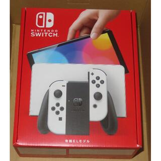 ニンテンドースイッチ(Nintendo Switch)の新品 ニンテンドースイッチ 有機ELモデル ホワイト(家庭用ゲーム機本体)