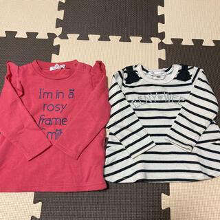サンカンシオン(3can4on)の【3can4on】女の子用ロンT  2点セット(Tシャツ/カットソー)