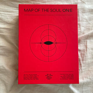 BTS MAP OF THE SOUL ON:E DVD 日本語字幕付き