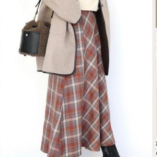 しまむら - てらさんterawearemuのベルトデザインMチェックスカート