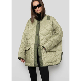Ron Herman - the frankie shop TEDDY QUILTED JACKET