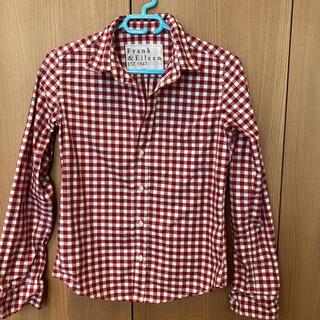 Ron Herman - 美品 Frank&Eileen  赤と白のギンガムチェックシャツ