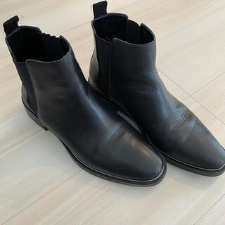 ZARA - 美品zara  ブーツ  ザラ プラステ