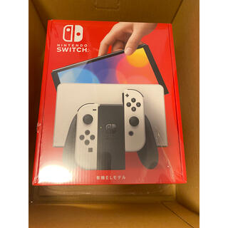 ニンテンドウ(任天堂)の任天堂 Switch Nintendo 有機ELモデル ホワイト 未開封(家庭用ゲーム機本体)