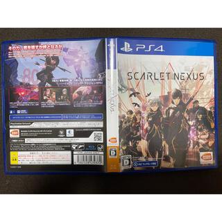 バンダイ(BANDAI)のSCARLET NEXUS(スカーレットネクサス) PS4(家庭用ゲームソフト)
