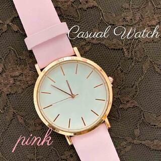 新品 送料無料 レディース 腕時計 クォーツ ピンク(腕時計)