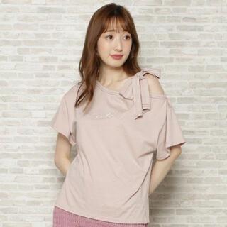 パールロゴ刺繍Tシャツ