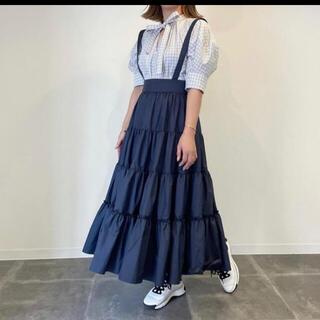ドゥロワー(Drawer)のcygne シーニュ  ティアードスカート Aki  (ロングスカート)