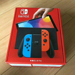 新品未使用 Nintendo Switch 本体(有機ELモデル) ネオン(家庭用ゲーム機本体)