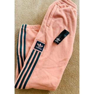 adidas - 新品タグ付き adidas スモーキーピンク 暖か モコモコパンツ