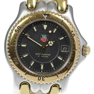 タグホイヤー(TAG Heuer)のタグホイヤー セル デイト WG1120-0 クォーツ メンズ 【中古】(腕時計(アナログ))