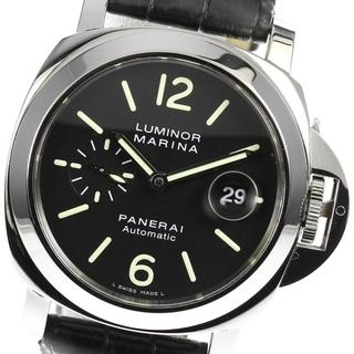 パネライ(PANERAI)の☆良品 パネライ ルミノールマリーナ PAM00104 メンズ 【中古】(腕時計(アナログ))