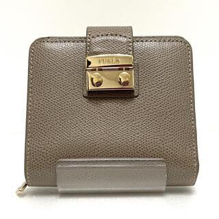 Furla - フルラ 2つ折り財布 メトロポリス グレー