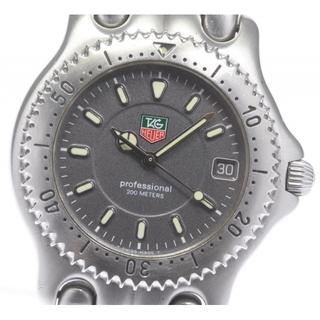 タグホイヤー(TAG Heuer)のタグホイヤー セル デイト WG1113-K0 クォーツ メンズ 【中古】(腕時計(アナログ))