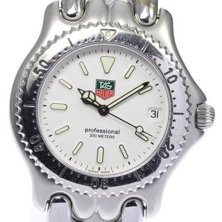 タグホイヤー(TAG Heuer)のタグホイヤー セル デイト S99.006 クォーツ メンズ 【中古】(腕時計(アナログ))