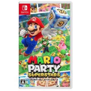 ニンテンドースイッチ(Nintendo Switch)の新品 マリオパーティ スーパースターズ(携帯用ゲームソフト)