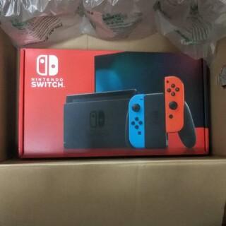 ニンテンドースイッチ(Nintendo Switch)の新品、未使用 任天堂Switchネオンカラー(家庭用ゲーム機本体)
