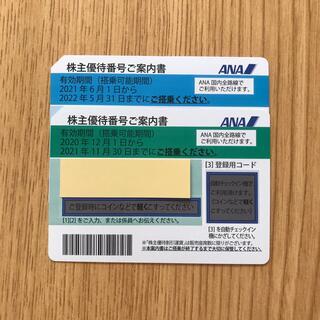 ANA(全日本空輸) - ANA 全日空 株主優待 2枚 2022年5月 有効期限