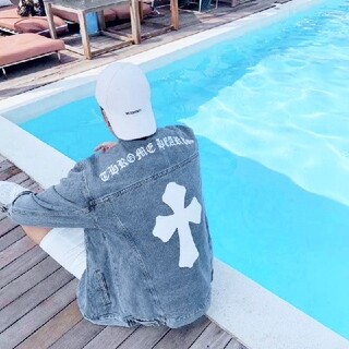 Chrome Hearts 十字架デニムジャケットコート