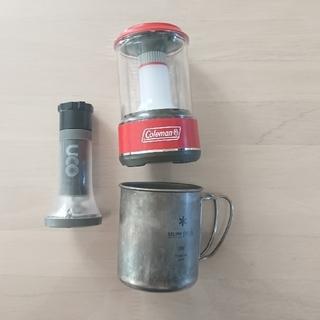 コールマン(Coleman)のコールマンバッテリーガードledランタン200 (調理器具)