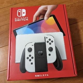 ニンテンドースイッチ(Nintendo Switch)の新品・未開封 スイッチ有機ELモデル(家庭用ゲーム機本体)