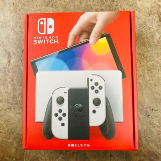 ニンテンドースイッチ(Nintendo Switch)の新型Nintendo Switch 有機ELモデル ホワイト(家庭用ゲーム機本体)