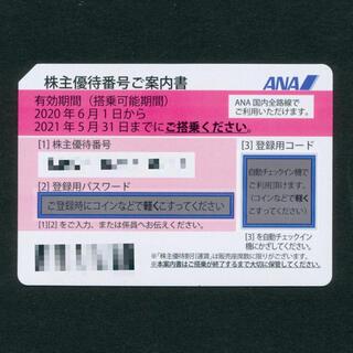 ANA(全日本空輸) - 全日空 ANA 株主優待番号ご案内書