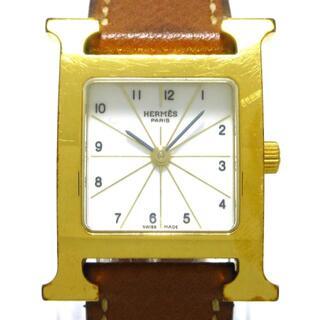 エルメス(Hermes)のエルメス 腕時計 Hウォッチ HH1.201 □L 白(腕時計)
