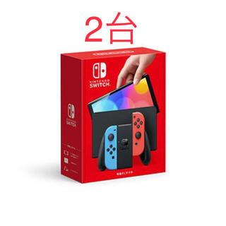 Nintendo switch 新型 有機EL ネオン 任天堂 スイッチ(家庭用ゲーム機本体)