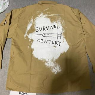 ダブルタップス(W)taps)のWTAPSダブルタップスJUNGLEシャツジャケットサイズM新品MODULAR(ミリタリージャケット)